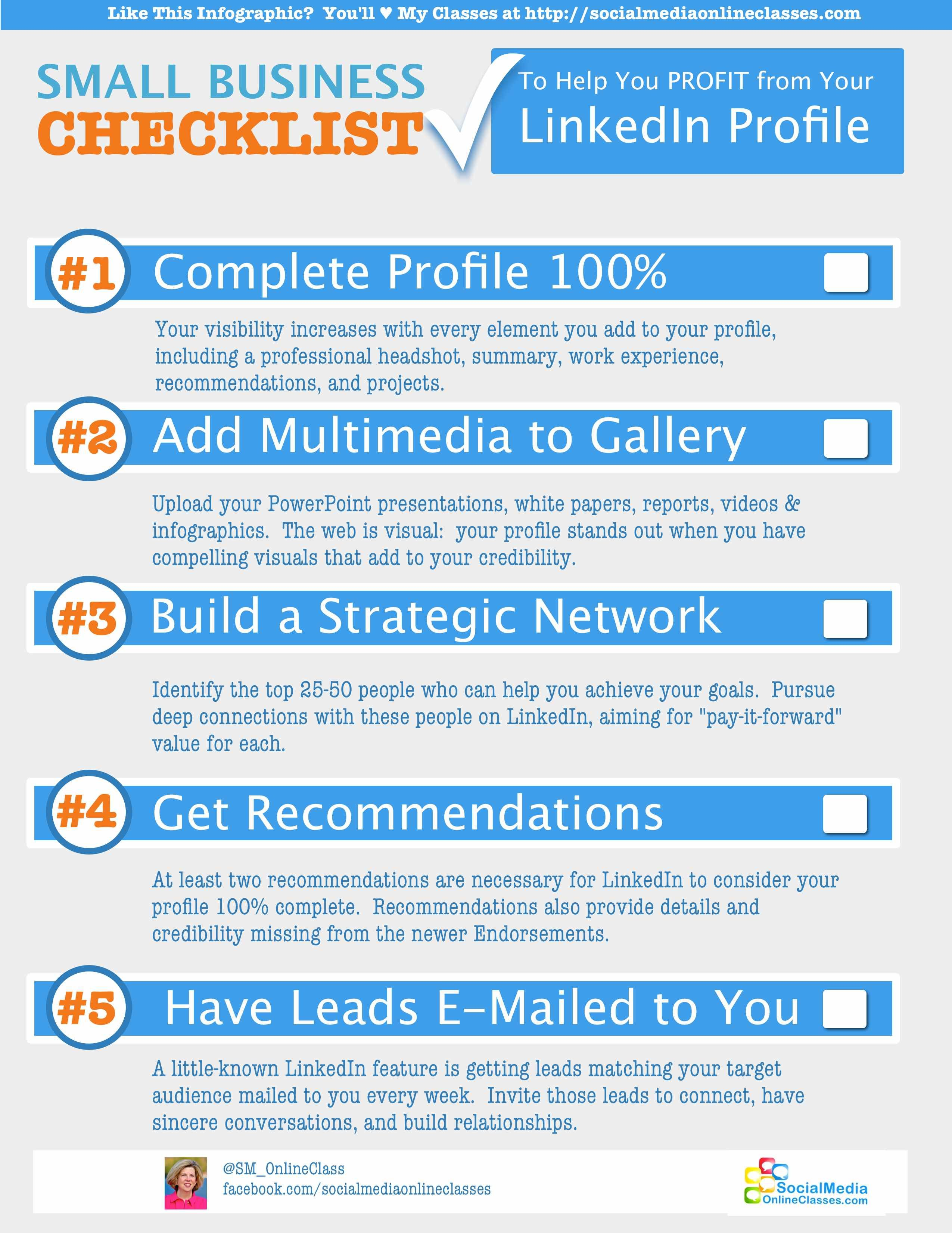 How To Market Yourself On Linkedin And Become A Linkedin Power User Linkedin Jobsearch Caree Linkedin Marketing Social Media Infographic Business Checklist