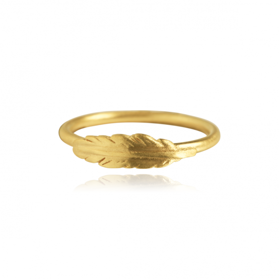 Plume Ring Gold