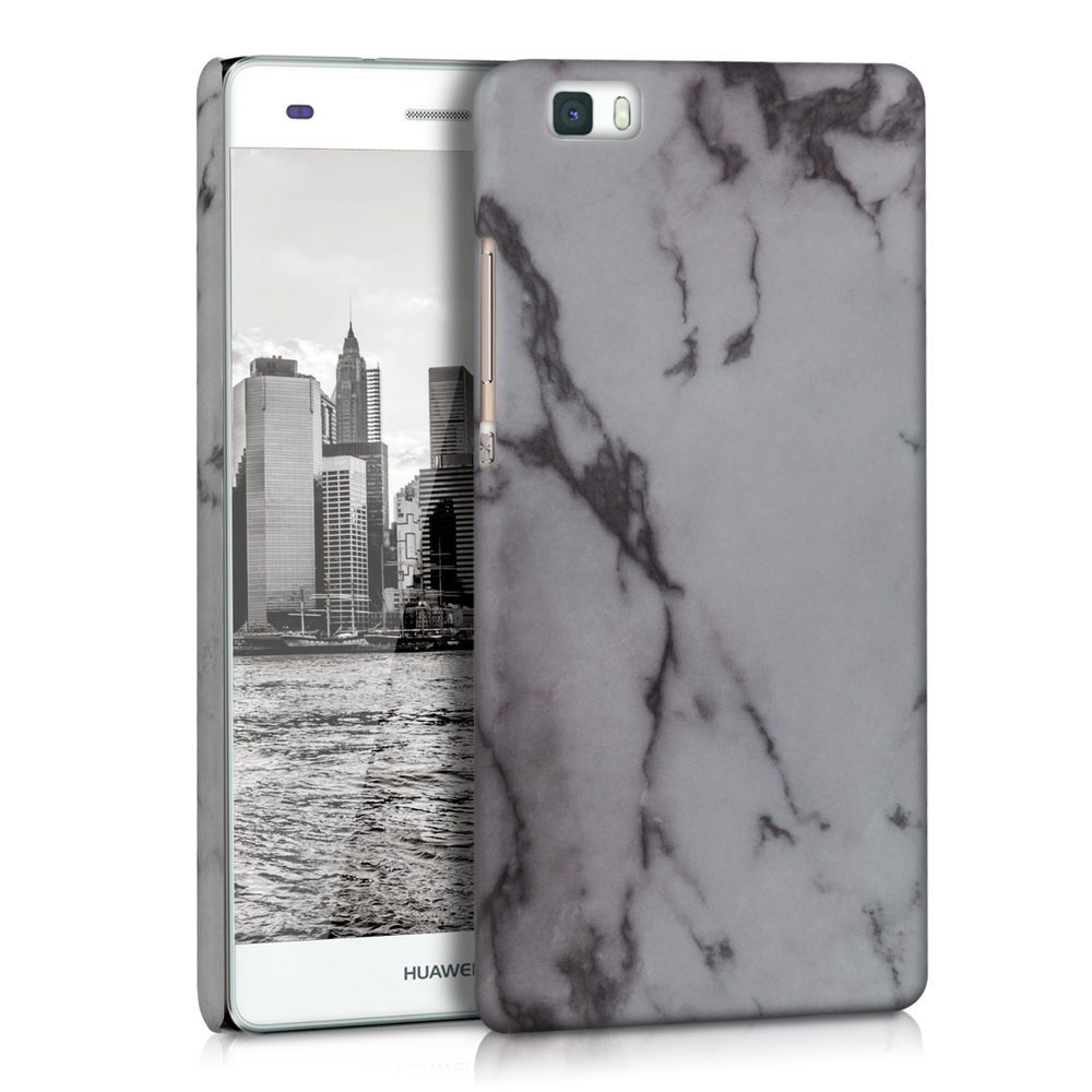 Hard Cover Marble Design For Huawei P8 Lite White Case Back Shell Bumper Mobile Kwmobile Avec Images Coque De Telephone Marbre Projets A Essayer