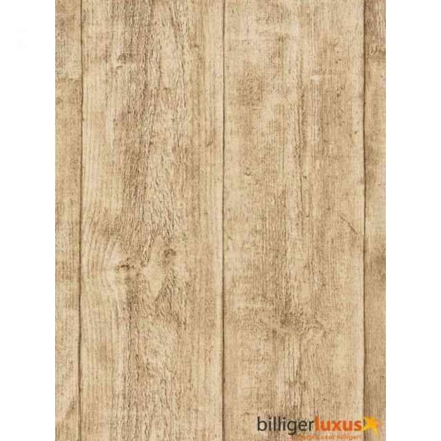 Tapete AS Creation Vliestapete Holz Holztapete 7088-16 Holz Tapete - tapete schlafzimmer beige