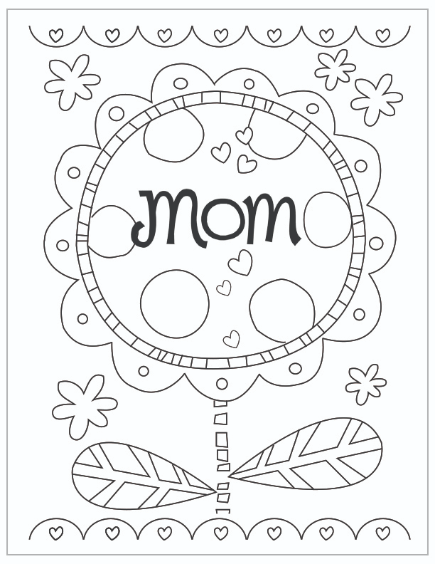 Mother S Day Coloring Pages Hallmark Ideas Inspiration In 2020 Mom Coloring Pages Mothers Day Coloring Pages Mother S Day Colors