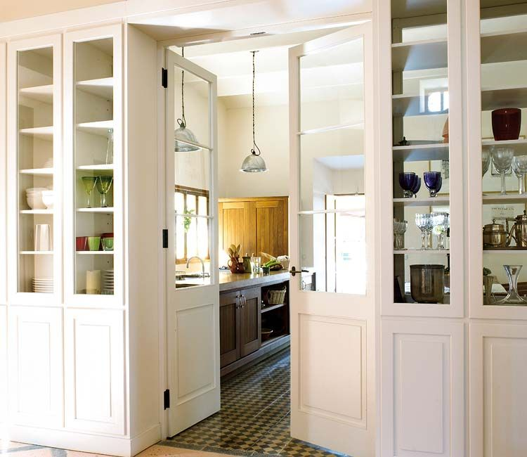 glass front room dividing cabinets | dream home | Pinterest | Front ...