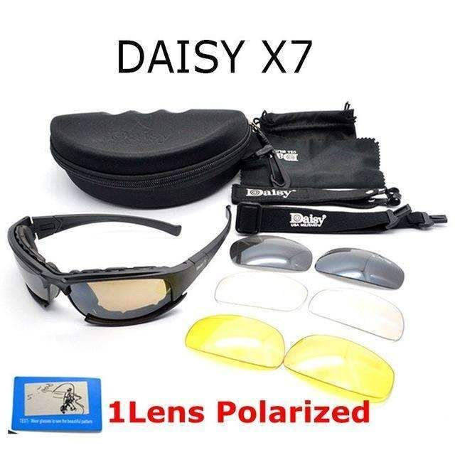 X7 Tactical Shooting Goggles Polarized Cycling Sunglasses with Night Vision XC 6dyF2fO1Vu