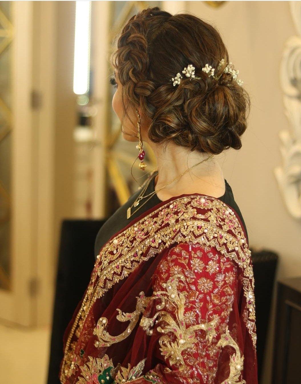 pin by pari zaaz on bridal wear in 2019 | bridal hair buns