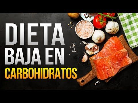 Dieta proteica baja en carbohidratos menus