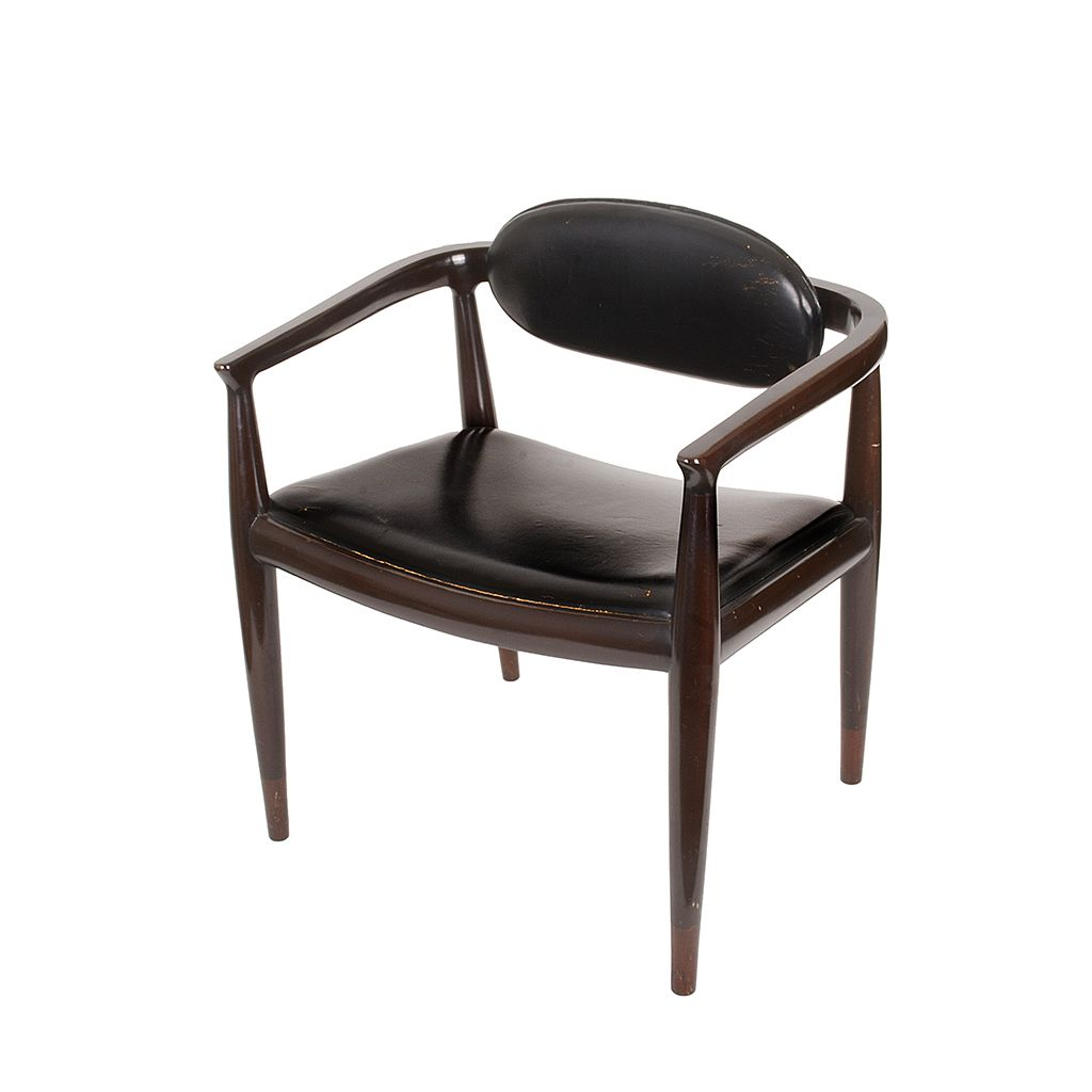 Jpg Dise O De Frank Kyle Sill N Chair Original Leather  # Muebles Raros Originales