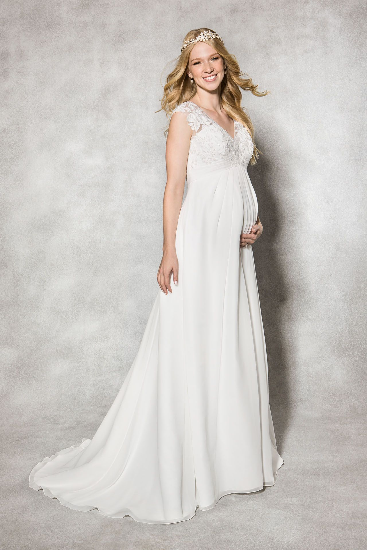 The beautiful heidi hudsons maternity gown alanis we love the beautiful heidi hudsons maternity gown alanis we love this empire line ombrellifo Image collections