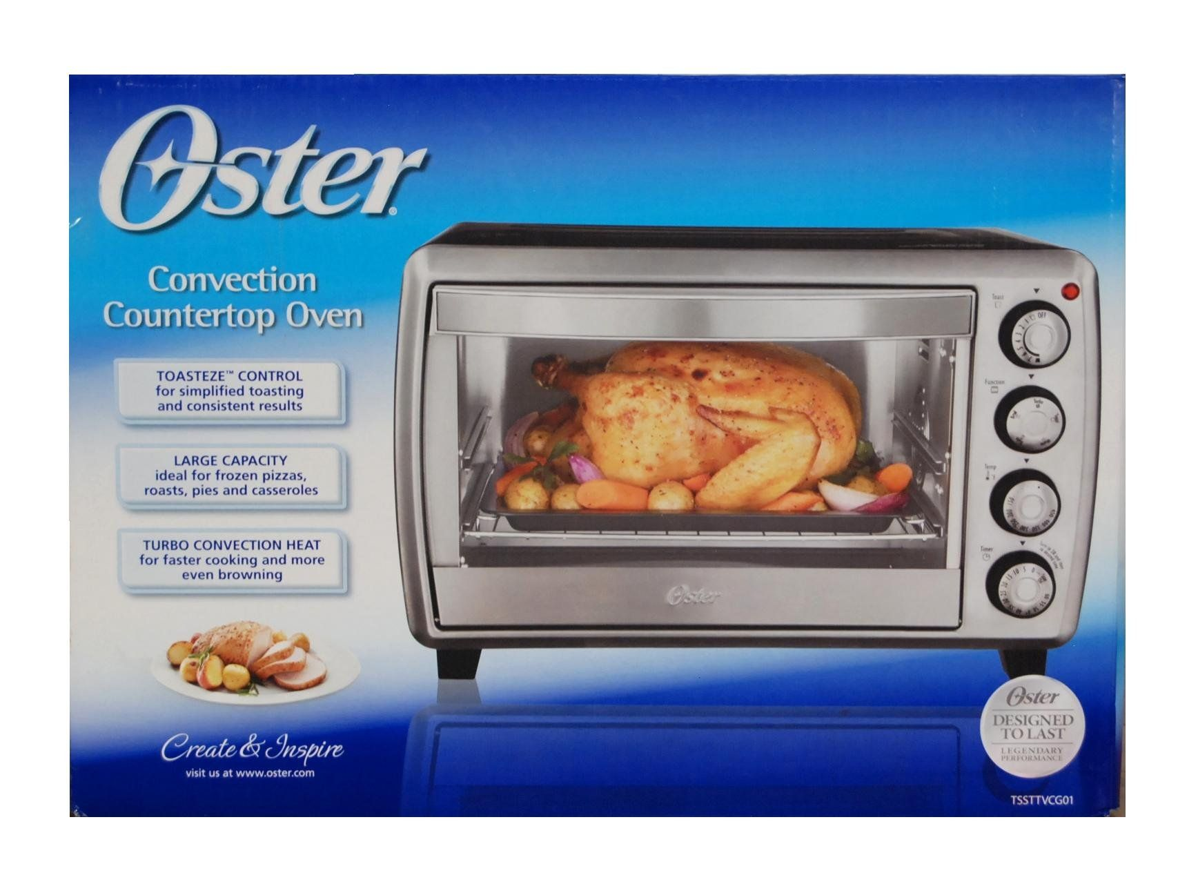 Amazon Com Oster Convection Countertop Toaster Oven Large Capacity Tssttvcg01 Kitchen Dining Countertop