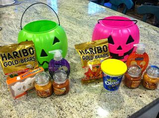 You have been BOO-ed BOO Baskets. Going to start this tradition I think next year. My cousin told me about it. #spookybasket