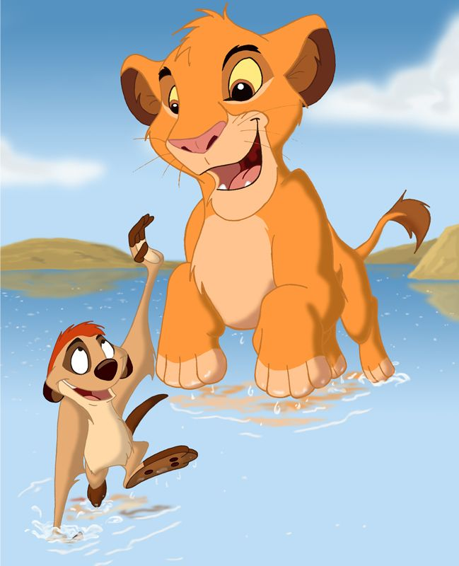 High Quality Simba U0026 Timon