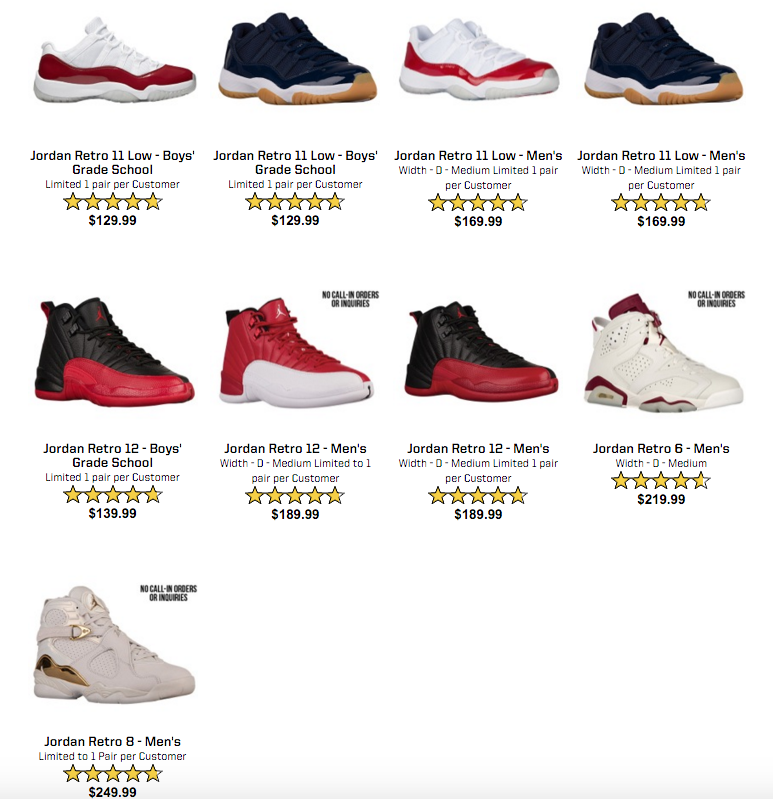 1b46789e3ba ... discount eastybay is having an air jordan restock tomorrow c1b8e ccdd1