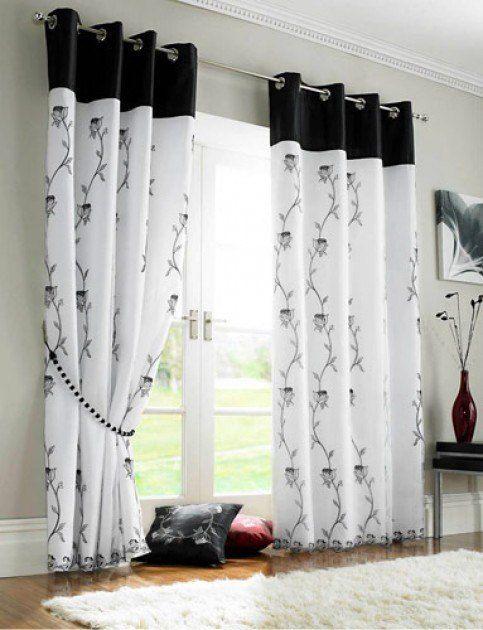 Cmo elegir los modelos de cortinas Tendenziascom ideas pa