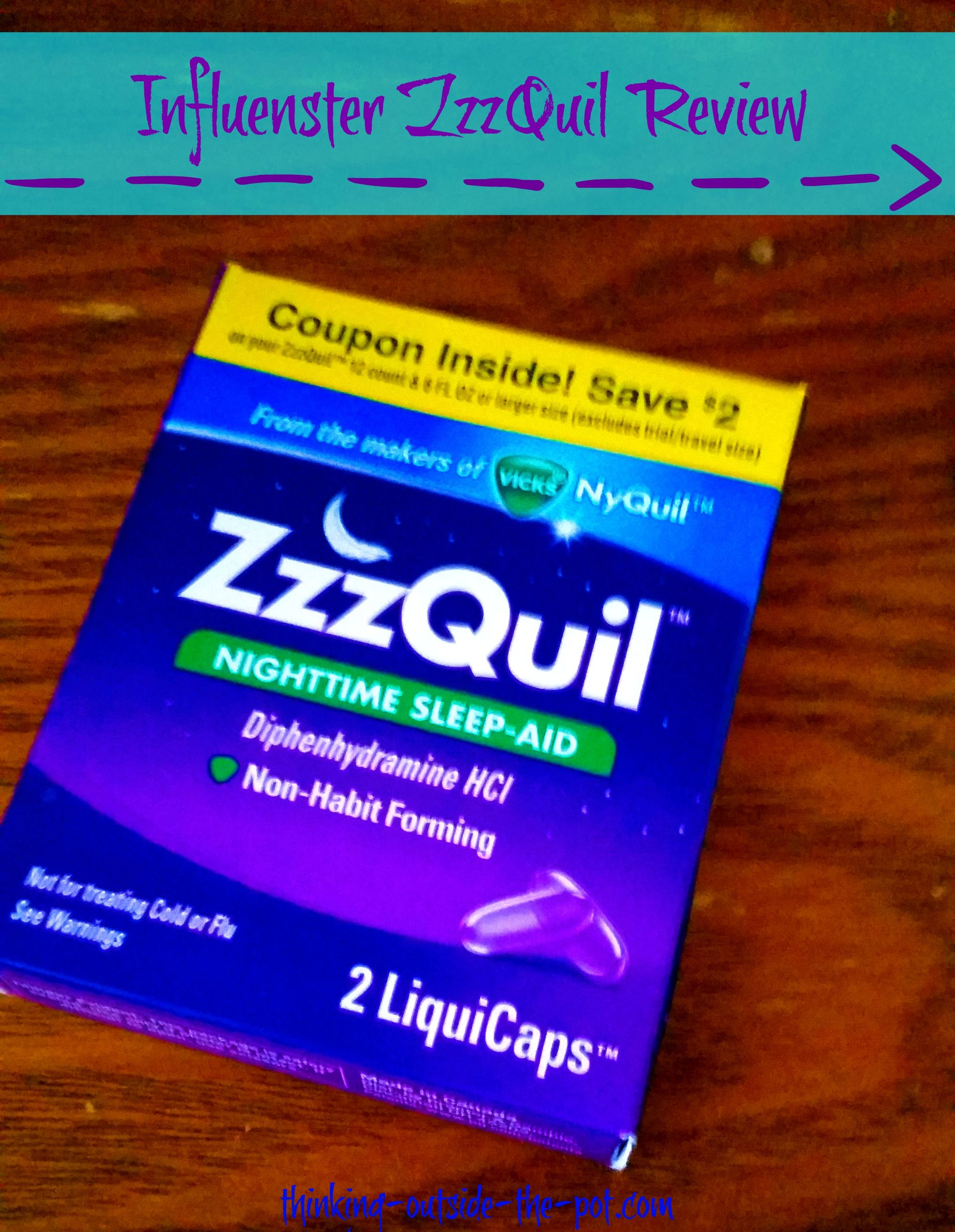 Zzzquil Influenster Box Thinking Outside The Pot Influenster Box Nighttime Sleep Aid Influenster