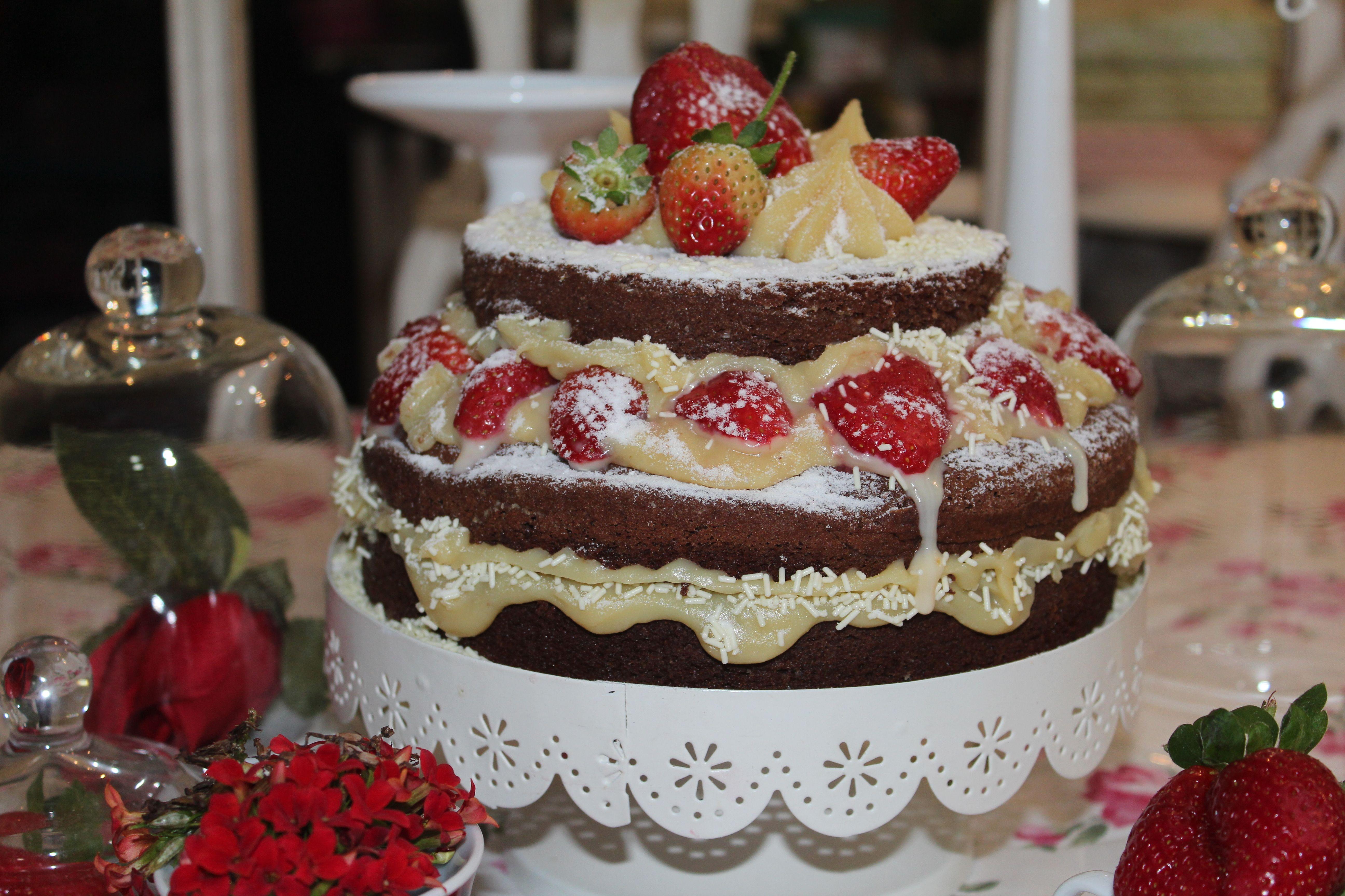 bolo brigadeiro branco