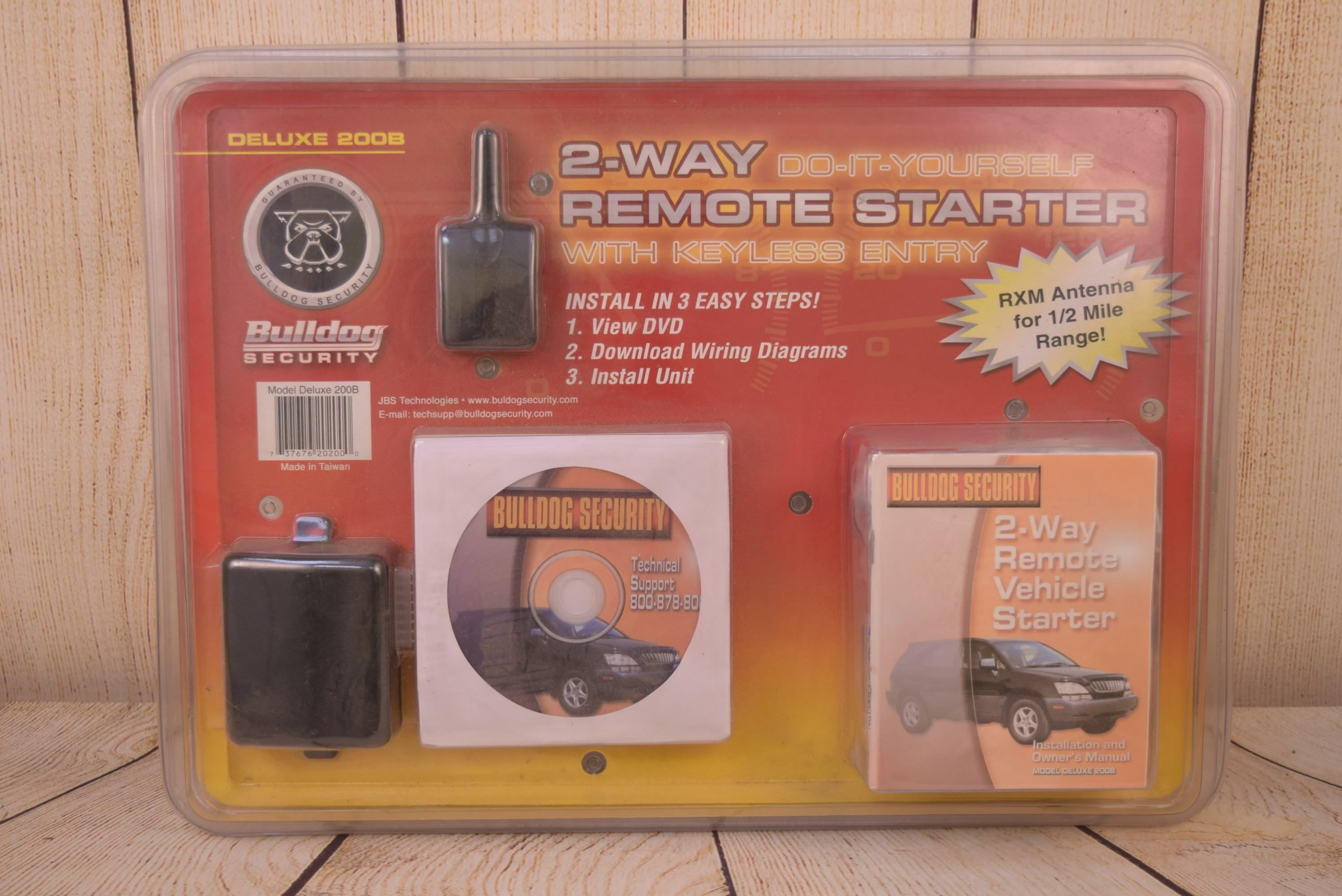 Bulldog Security Deluxe 2 Way Remote Starter 200b Bulldog Security Remote 2 Way