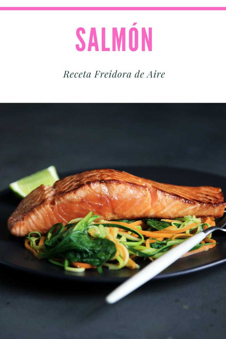 Receta De Salmón En La Freidora De Aire Con Salsa De Eneldo Y Limón Lafreidoradeaire Receta En 2021 Salmon Recetas Recetas Para Freidora Comida Para Diabeticos Recetas