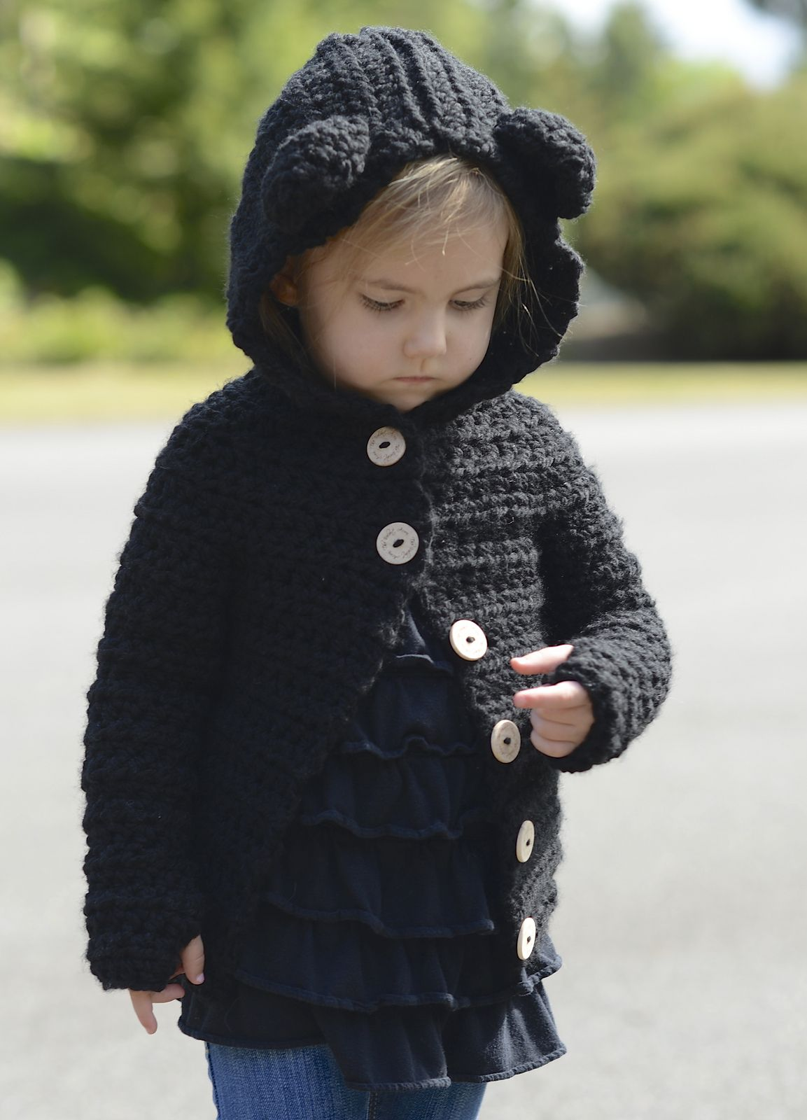 Ravelry Becklyn Bear Sweater By Heidi May