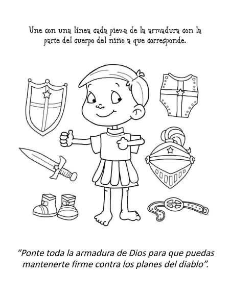 Resultado de imagen para la armadura de dios para niños | clases ...