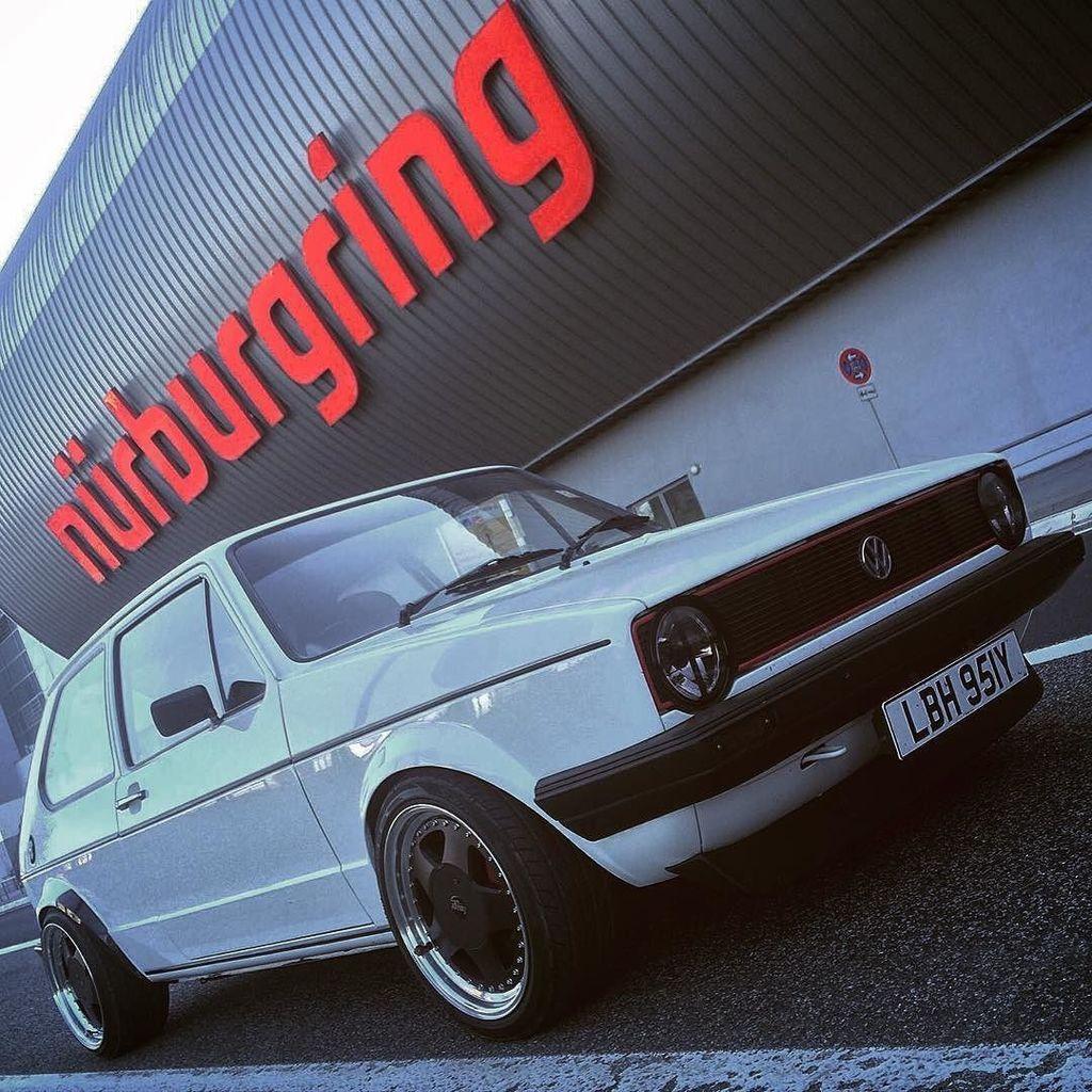 The money shot  #nurburgring #nürburgring #nurburgring2016 #worthersee2016 #roadtrip #mk1golf #mk1 #vw #iamnormal  https://t.co/6s2mP77P5y