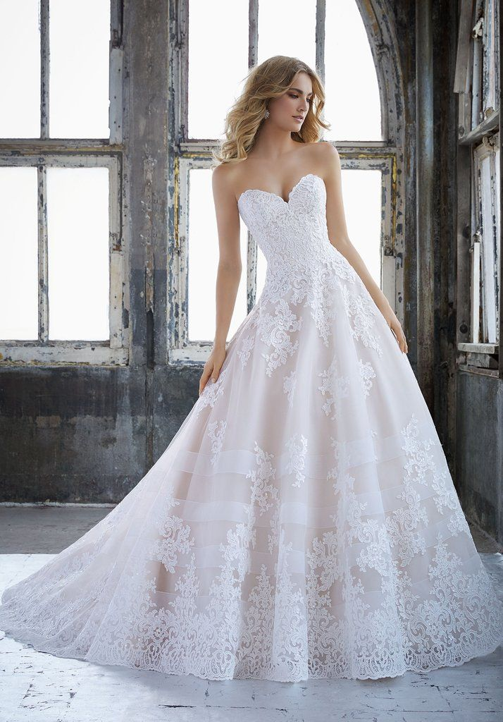 Morilee 8211 Kimberley Princess Lace Ball Gown Wedding Dress | Hello ...
