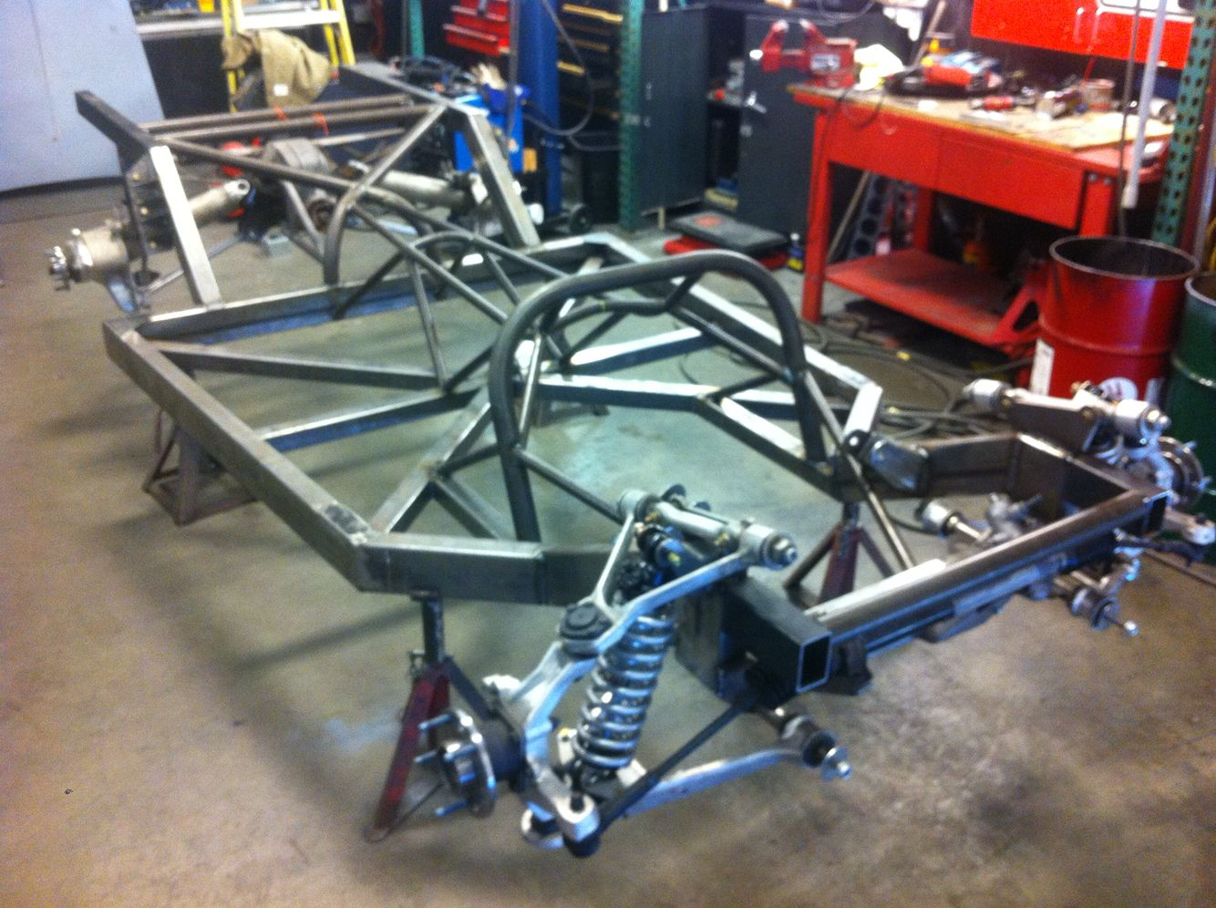 Custom Chevy Truck Chassis I Built Fabrication Pinterest