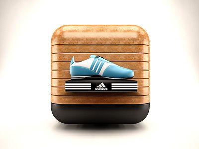Dribbble - Sports Store IOS Icon by Ali Rahmoun