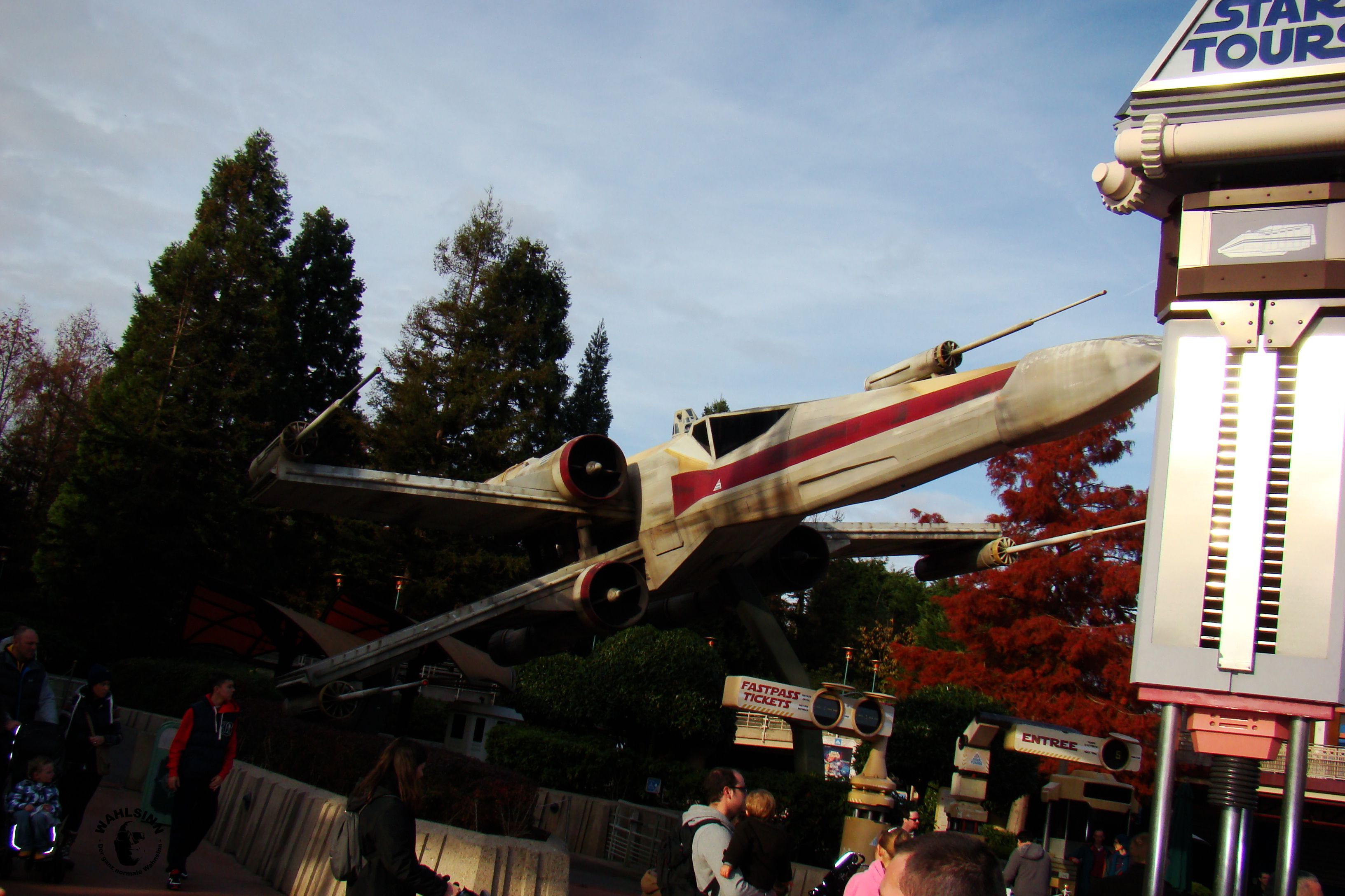 Disneyland Paris - Star Tours / Star Wars