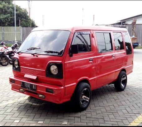 My Redbull Suzuki Carry 85 Buek