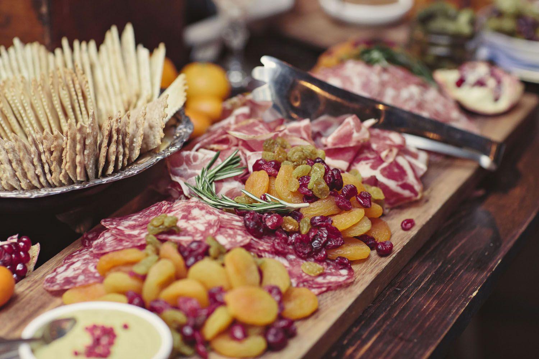 A Premier New York Wedding Venue Catering food displays