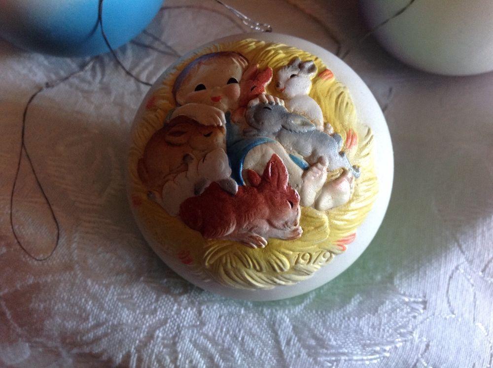 ANRI  Ferrandiz Hand carved Limited Edition 1979 Christmas Ornament