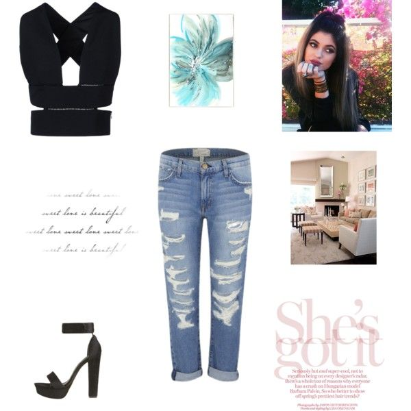 kk by raffyangy95 on Polyvore featuring polyvore fashion style STELLA McCARTNEY Current/Elliott