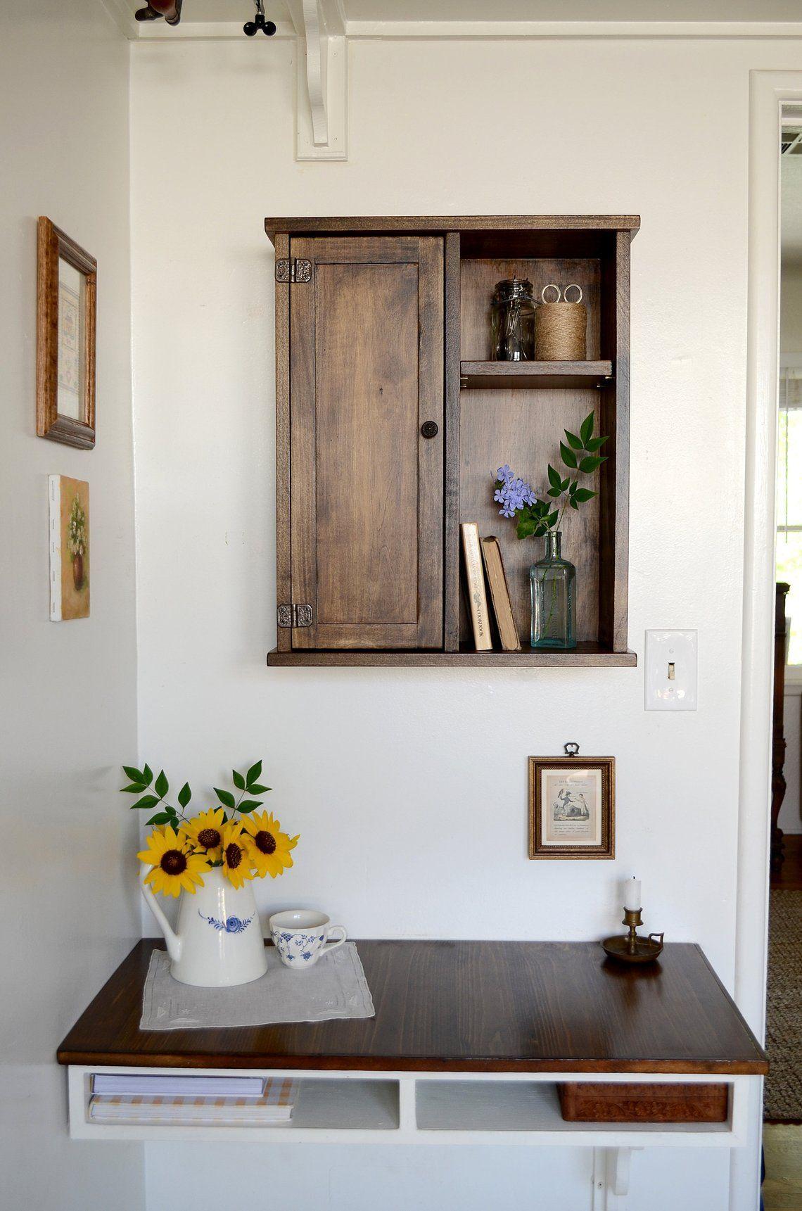 Farmhouse kitchen kitchen wall storage