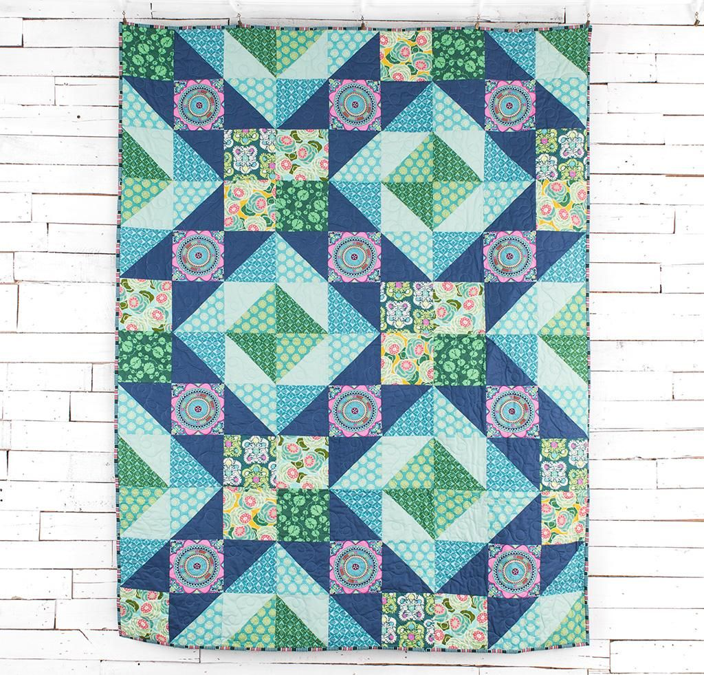 Garden Party Quilt Kit | Amy butler fabric, Amy butler and Patterns : garden party quilt pattern - Adamdwight.com