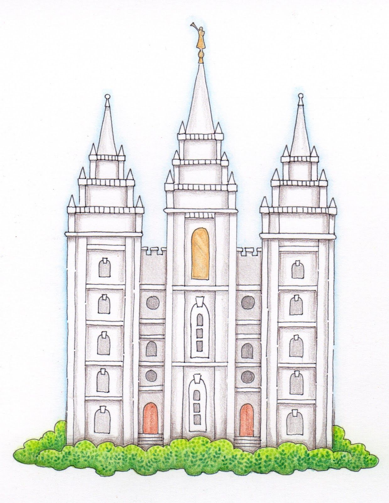 Darling Temple Drawing I Know I Ll Find Myself Looking For This