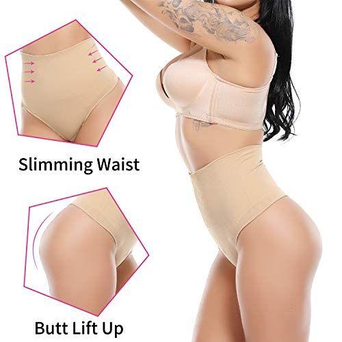 2a6f1037b06b SLIMBELLE High Waist Cincher Thong Butt Lifter Shaper Panties Girdle Tummy  Control Panty Shapewear, #