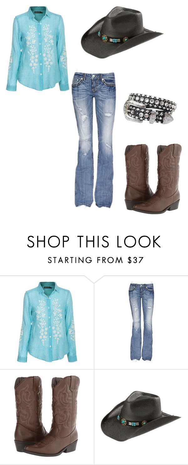 """""""Love the Cowgirl Life"""" by mg-lowery ❤ liked on Polyvore featuring Antik Batik, miss-me, Madden Girl and Kippys"""