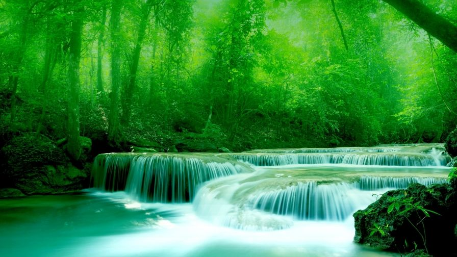 Landscape Waterfalls Hd Free Download Wallpapers Waterfall Beautiful Wallpapers Water