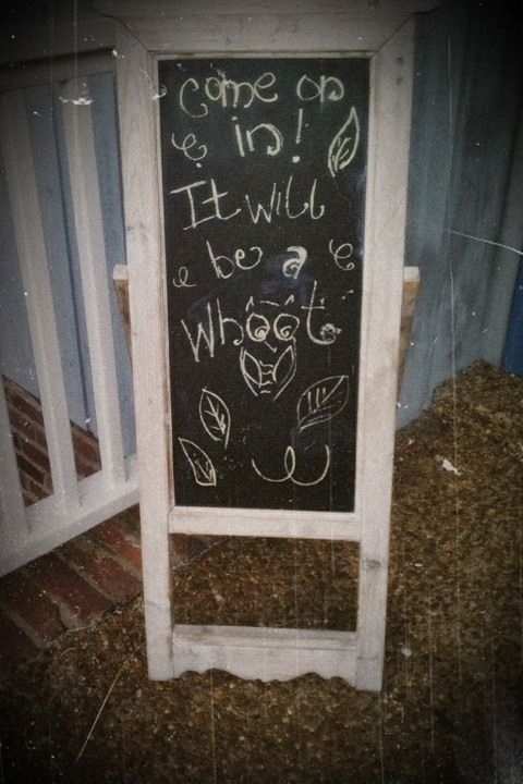 Chalkboard Sign_antique