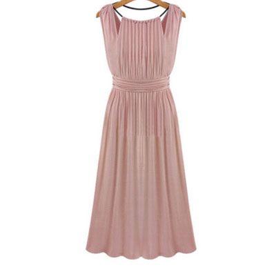 39,90EUR Kleid gerafft rose bridesmaid dress Brautjungfernkleid