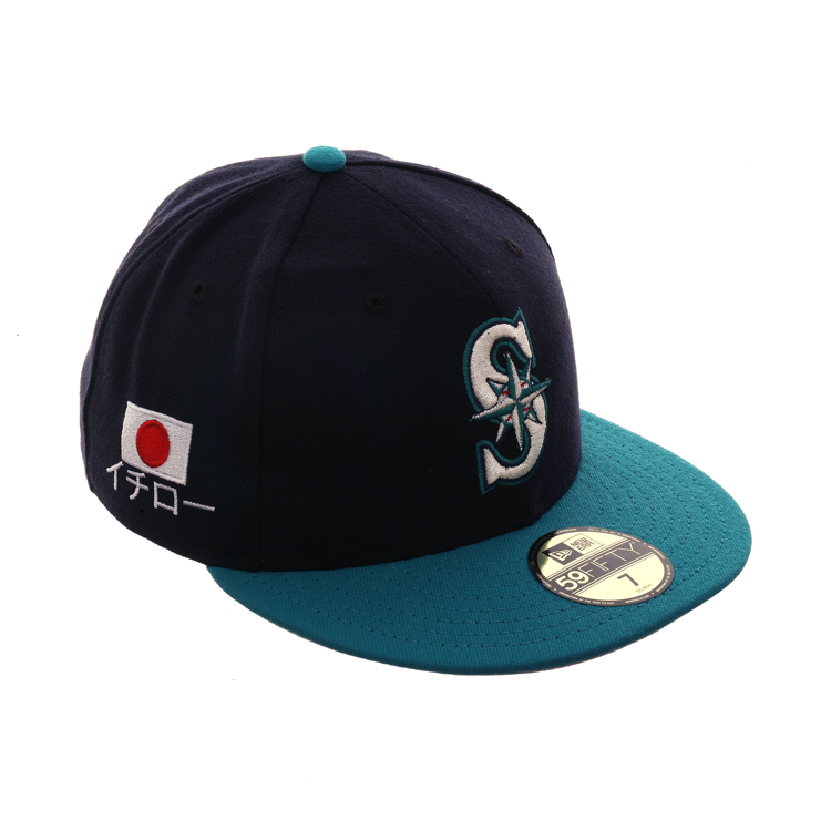 separation shoes c0e9a f14d1 Seattle Mariners New Era Cooperstown Collection Heather Crisp Low Profile  59FIFTY Fitted Hat - Heathered Navy -  27.99   sports   Seattle Mariners,  ...