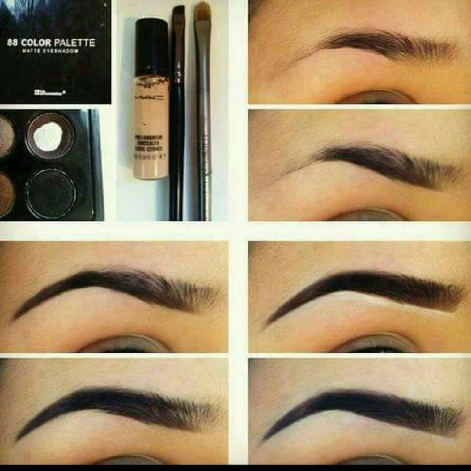 How To Shape Your Own Eyebrows | Perfect makeup, Eye ...