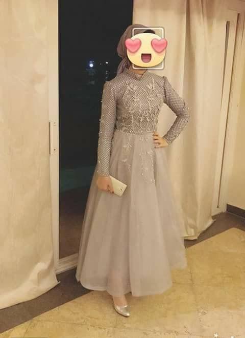 868afcc96299 Abiye Tesettür   Fashion   Pinterest   Robe chic pas cher, Hijab soirée et  Robe hijab