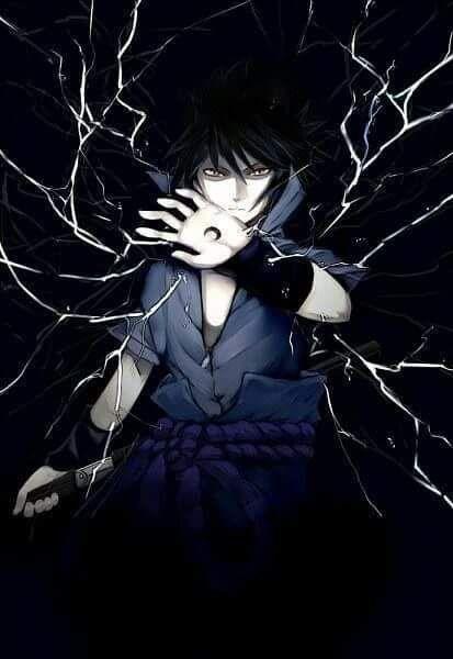 Sasuke Uchiha Gambar Anime Gambar Seni Manga