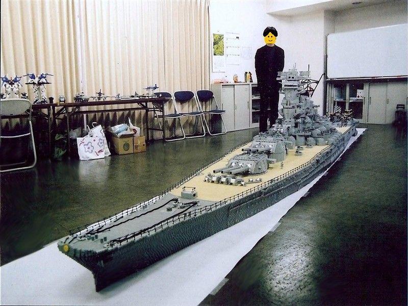 Lego Battleship Yamato Is Biggest Lego Ship Ever Lego - Biggest lego ship