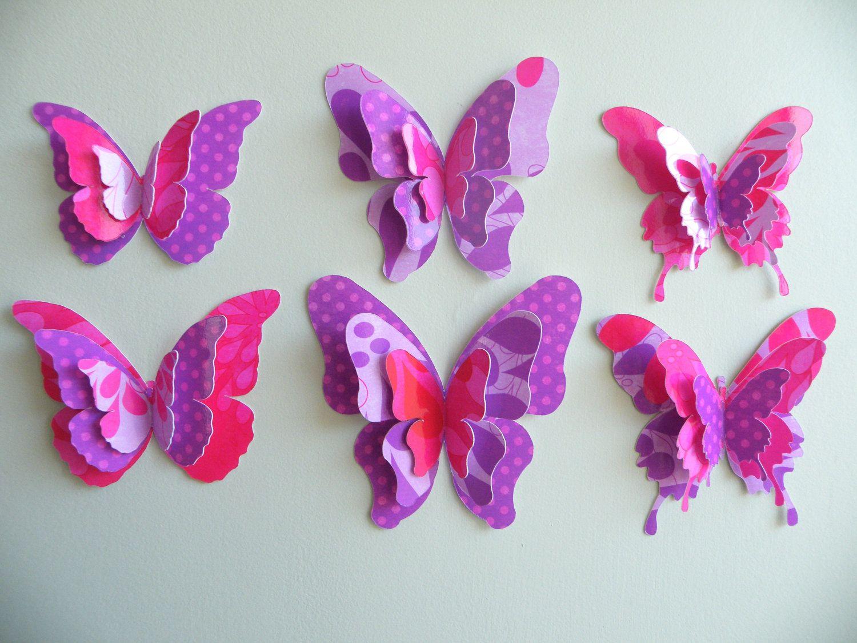 paper butterflies -
