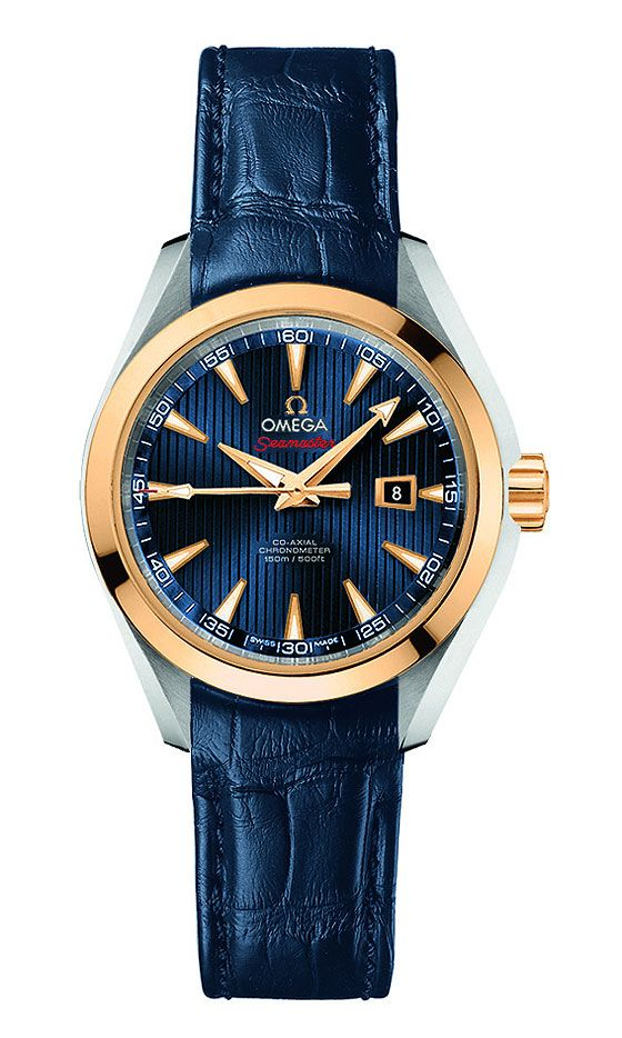 "Seamaster Aqua Terra Co-Axial ""London 2012"""