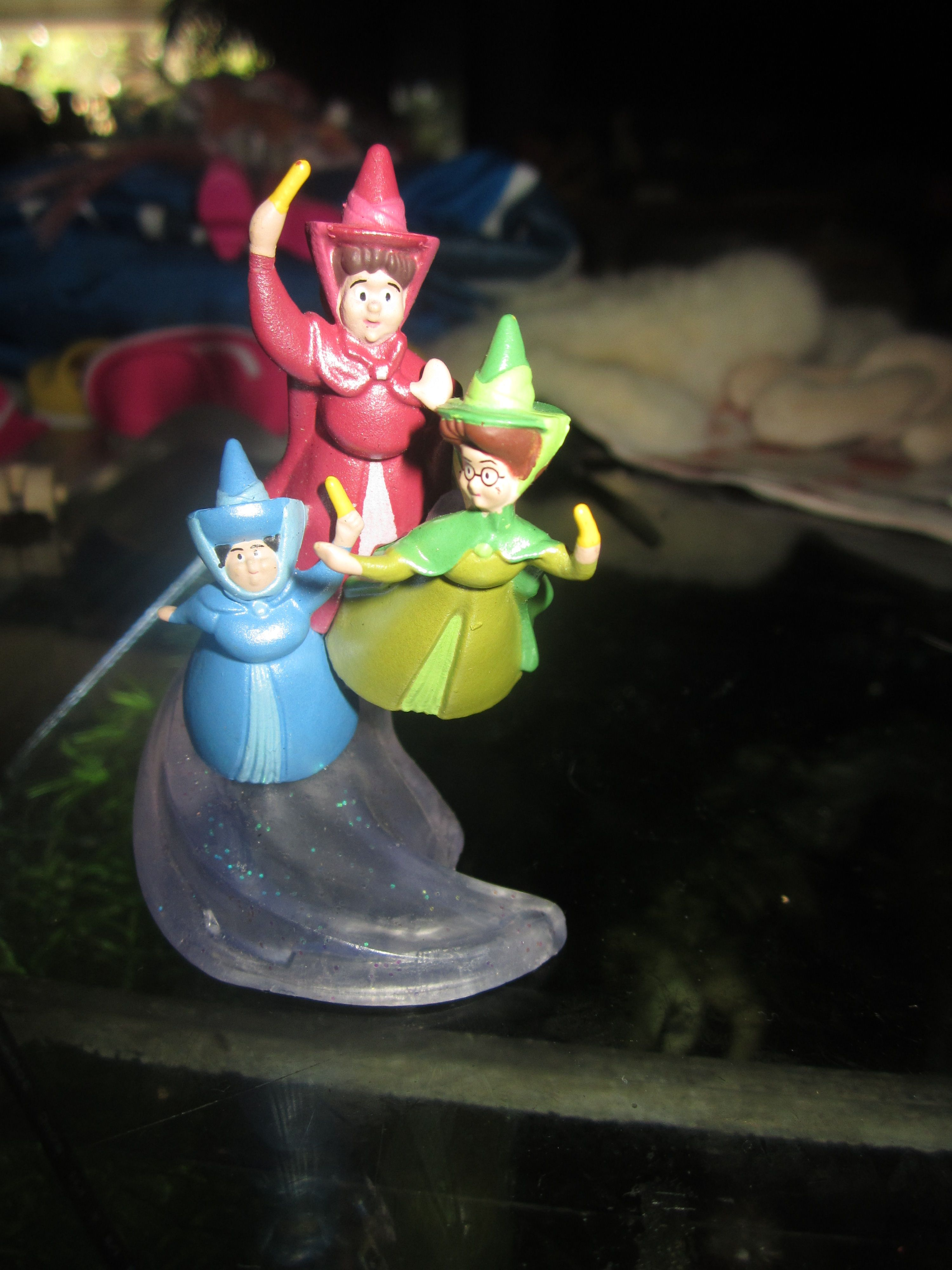 Walt Disney Sleeping Beauty Flora Fauna And Merryweather Are The