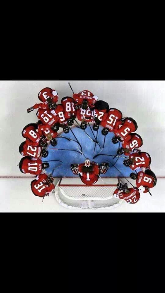 Team Canada women's hockey.