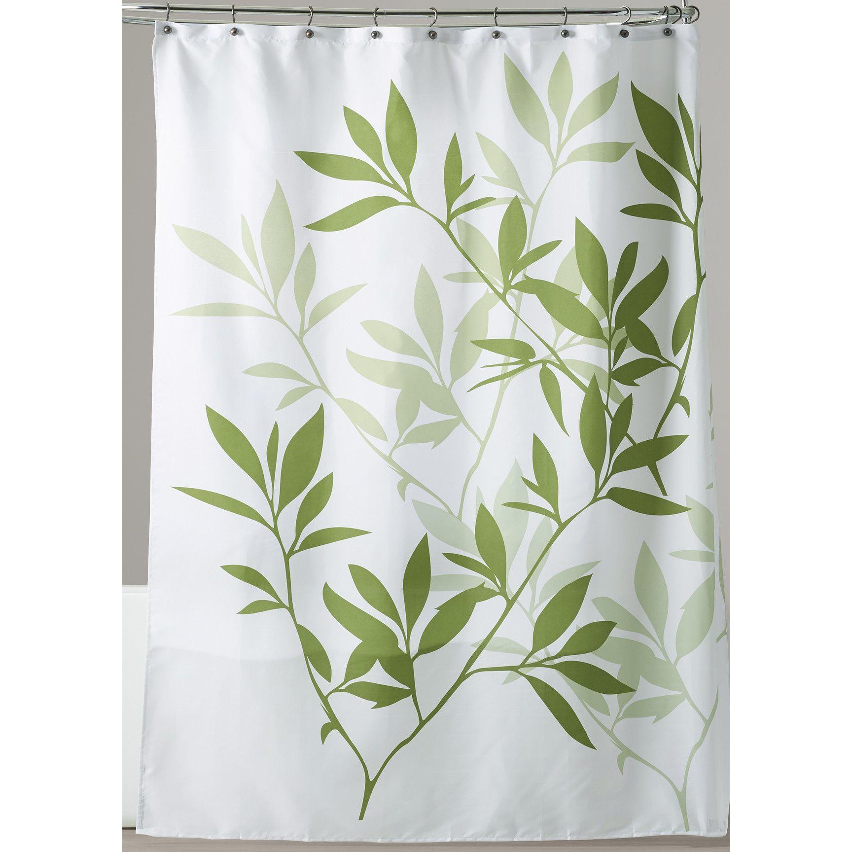 Bay Isle Home Begonia Shower Curtain The Condominium Green