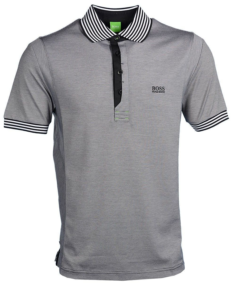 de9d807e7 Hugo Boss Pavel Modern Fit Polo Shirt - Black | Hugo Boss in 2019 ...